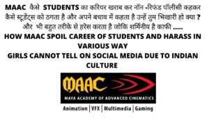 Maac Fraud | Fraud Institute Case| Maac Complaints | Maac Institute & Students Review | Harass