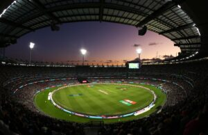 Melbourne Cricket Ground MCG crowd