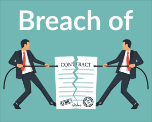 Format of Legal Notice for Breach of Contract