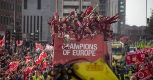 liverpool with their title