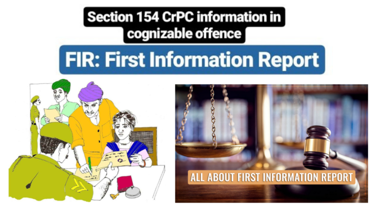 FIR (First Information Report) – Putting Criminal Enforcement Machinery in Motion in India
